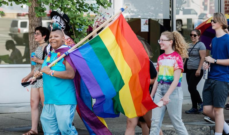 The Charlottesville Pride Festival takes place each year in September, and is 100% volunteer-led.