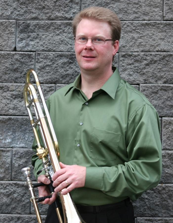 Andrew Lankford teaches trombone at James Madison University.