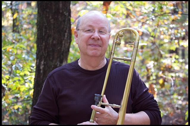 Sim Flora is a trombone professor at Ouachita Baptist University in Arkadelphia, Arkansas.