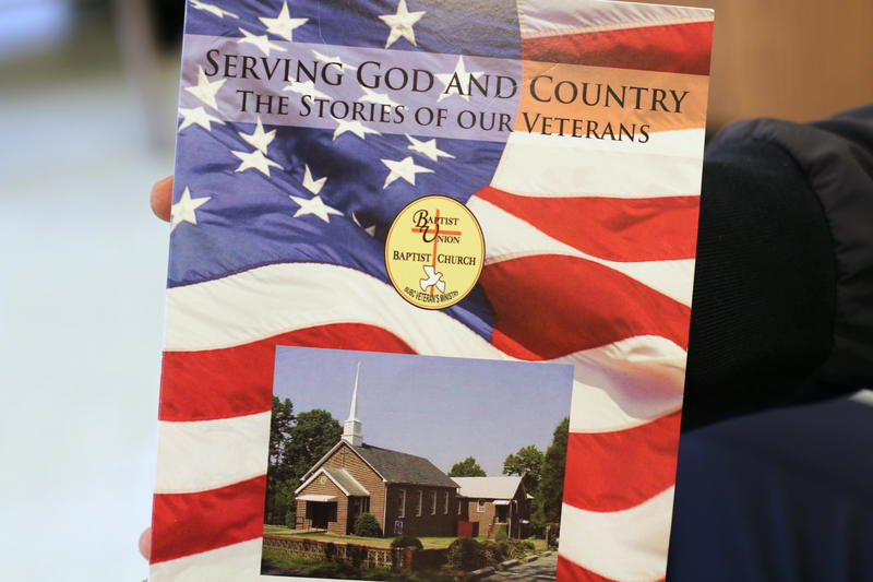 """In """"Serving God and Country,"""" ten veterans who attend Baptist Union Baptist Church in Dillwyn, Virginia, wrote about their time serving in the Armed Forces."""