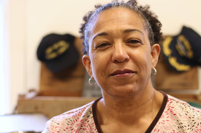 Janice Johnson served for 32 years, and helped recruit other veterans in her church to participate in the writing project.
