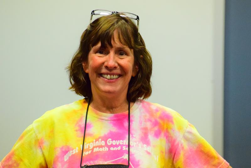 Sue Ann Heatherly is the observatory's Senior Education Officer, and has been working at the facility since the 1980s, including during the building of the Green Bank Telescope.