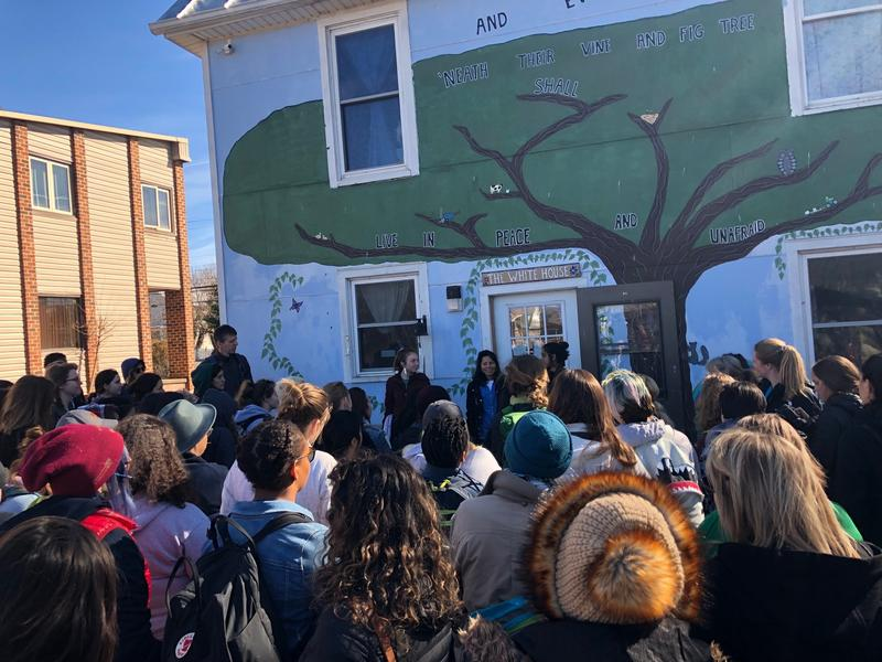 Vine and Fig in Harrisonburg hosted a field experience for students participating in the Emerging Creatives Summit at JMU.