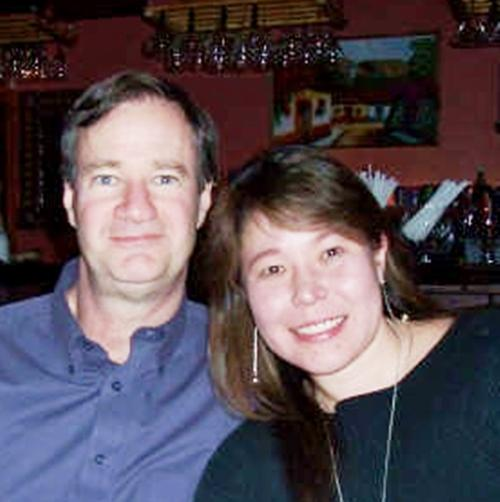 Mike Grundmann and his wife, Tara.