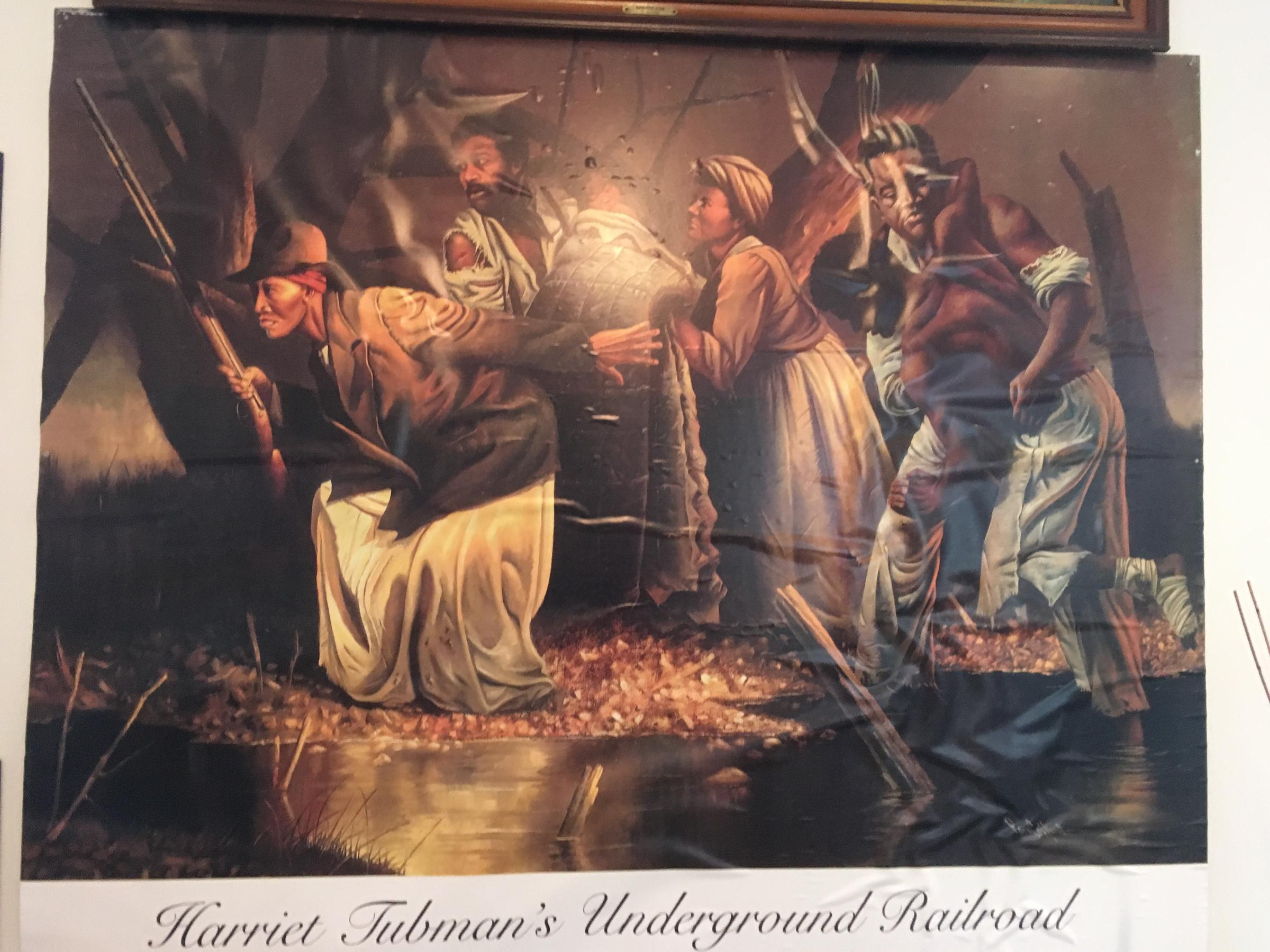 a report on harriet tubman and the construction of the underground railroad in america Harriet tubman underground railroad visitor center — photo courtesy of national park service the new harriet tubman underground railroad visitor center commemorates one of america's most famed .