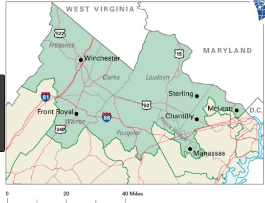 Virginia 10th Congressional District Wmra And Wemc