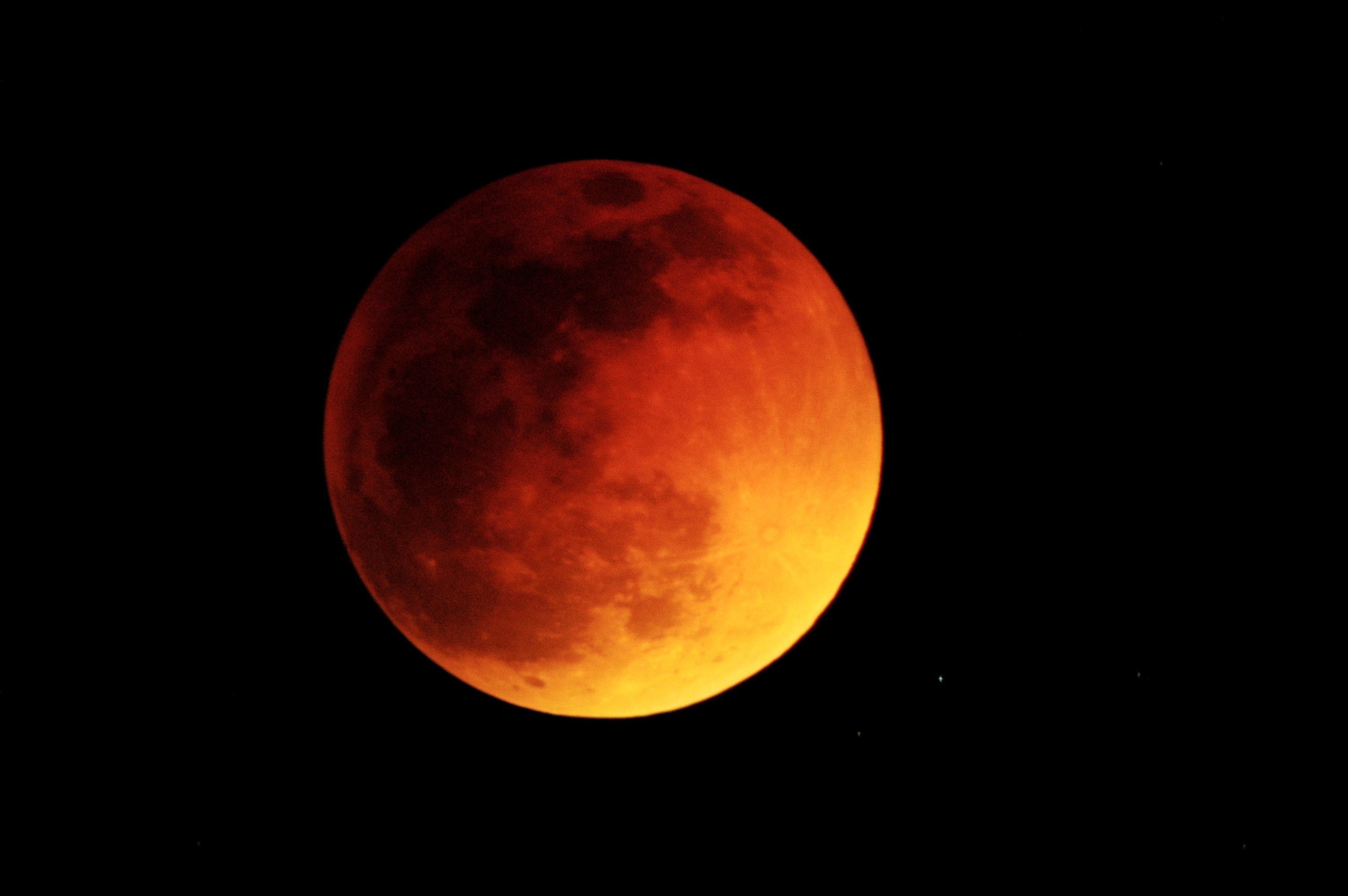 red moon during eclipse - photo #15