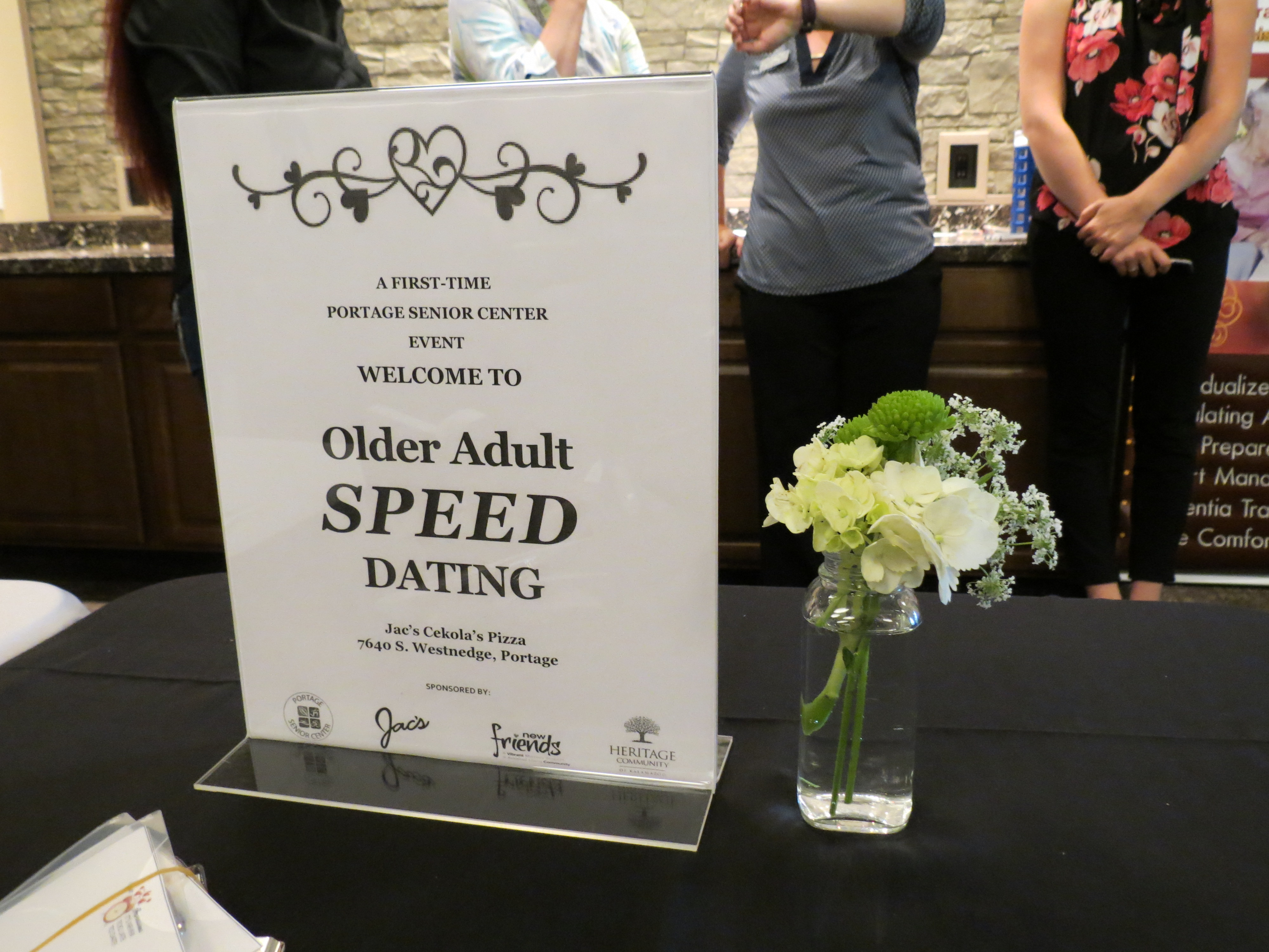 How to arrange a speed hookup event