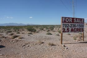 Land for sale goes begging in Nevada