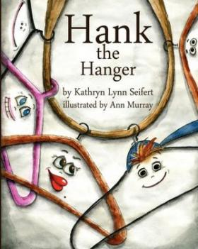 Book cover for 'Hank the Hangar'