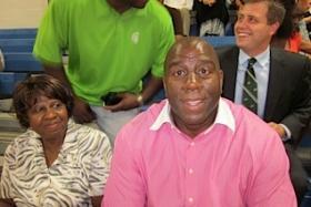 Former NBA star Magic Johnson