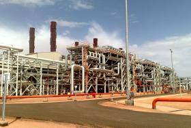 BP natural gas plant in Algeria where hostages were taken in January