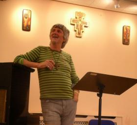 John Bell at the Clifton Diocese in the United Kingdom