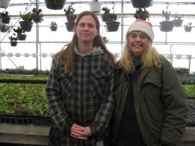Deanna Fritz (left) and Joann Payne (right) of Summer Sun Nursery