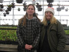 Deanna Fritz (left) and Joann Payne (right) of Summer Sun Nursery