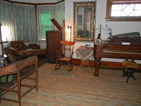 The sheriff's home at the Allegan County Jail Museum.