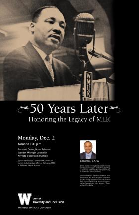 Poster for the Dec. 2 WMU event