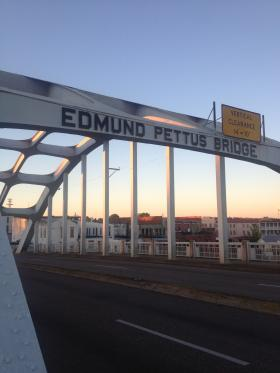 The Edmund Pettus Bridge as it appears today