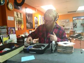 As manager of The Corner Record Shop, Sean Hartman is in the know about the best and most valued vinyl music. His store is participating in the seventh annual nationwide event known as Record Store Day, where vinyl enthusiasts can pick up new-old releases and celebrate with fellow fans.