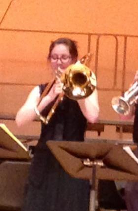 Loy Norrix High School student Allegra Kistler-Ellis