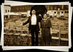 Family photo of Theo & Stacy Skartsiaris, creators of Greek Fest.