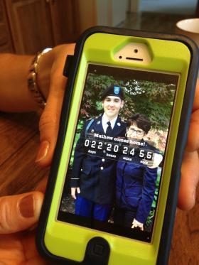 Cecilia Mallette's homecoming countdown app