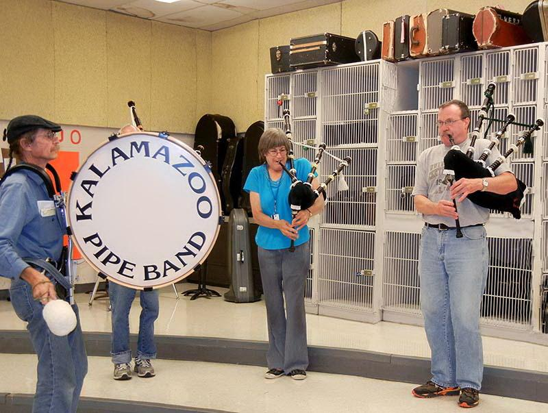 The Kalamazoo Pipe Band