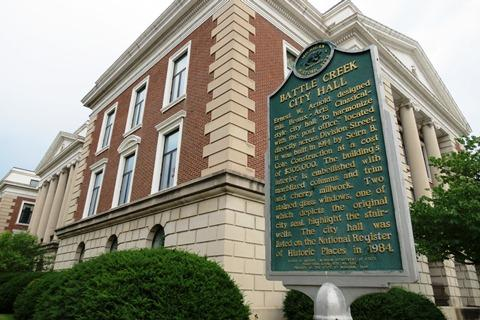 Battle Creek City Hall - file photo