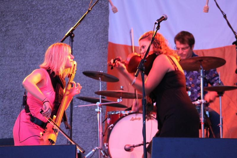 The Moxie Strings at the Kalamazoo Irish Festival
