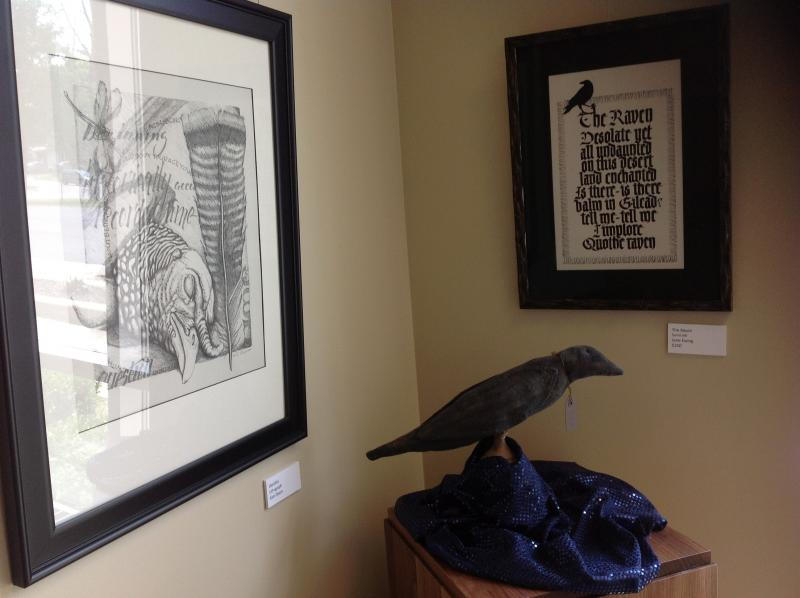 Works by Kim Dixon and Jane Ewing