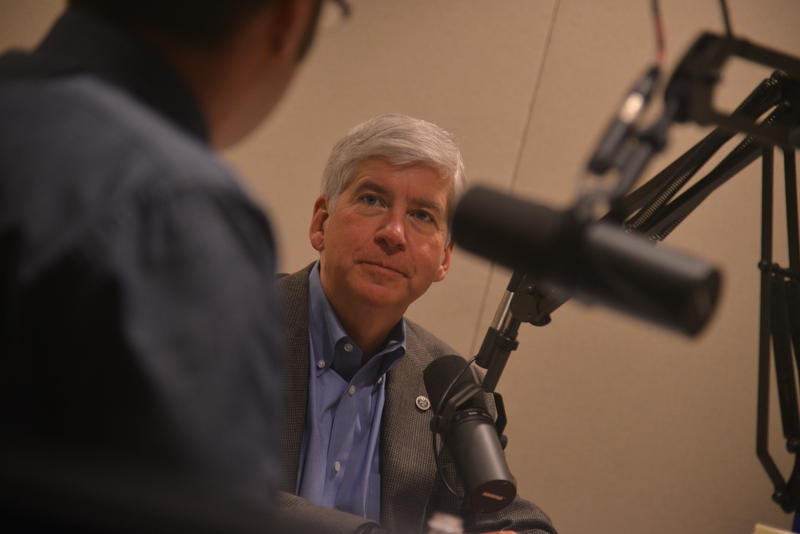 Governor Rick Snyder - file photo