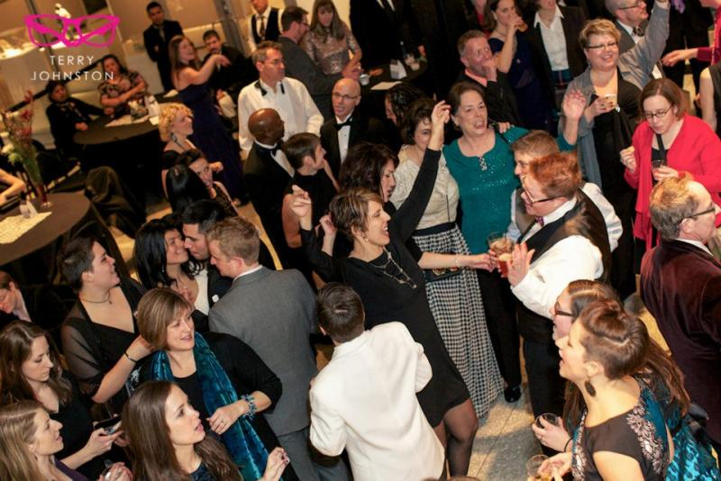 Guests enjoy themselves at the Kalamazoo Gay Lesbian Resource Center's 2012 Winter Gala and Fundraiser. This year's event will be held on February 1 at the Kalamazoo Institute of Arts.