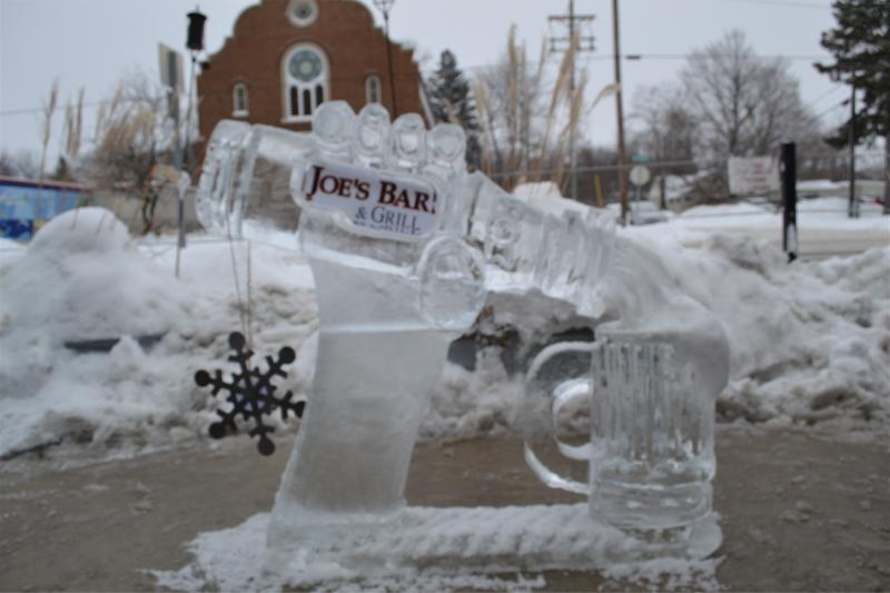 There will be 53 blocks of ice waiting to be carved at this year's Ice Breaker Festival.