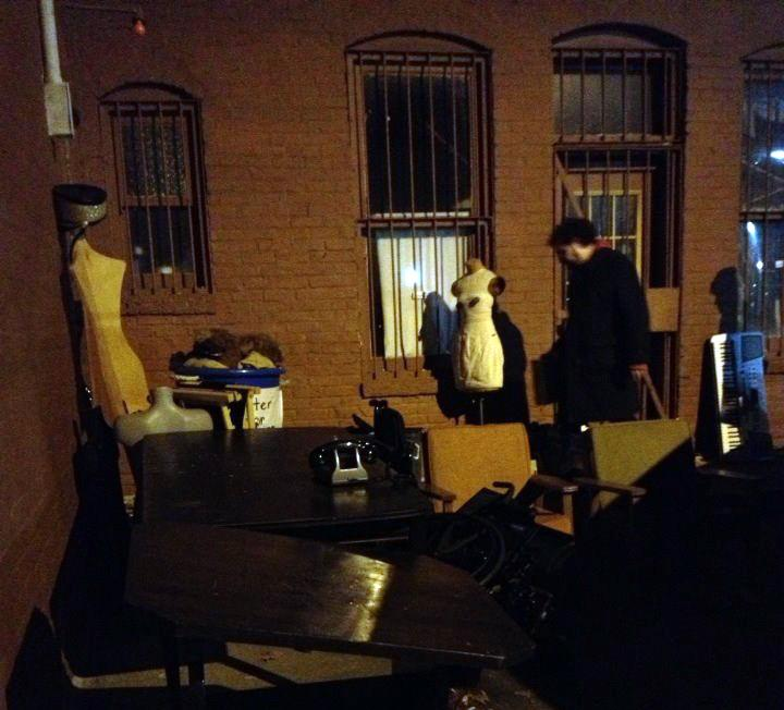 Fancy Pants Theater members pack up at Studio 246
