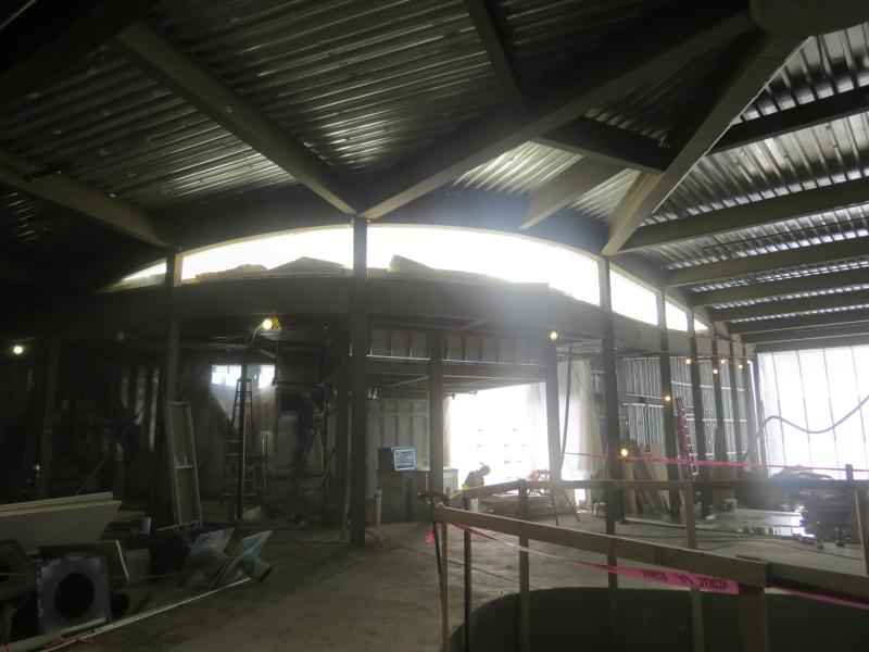 Inside the Arcus Center site