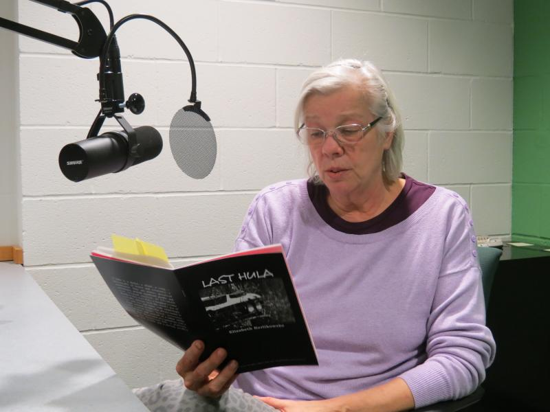 Elizabeth Kerlikowske in the WMUK studio