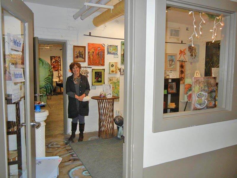 Jean Weir's studio gallery