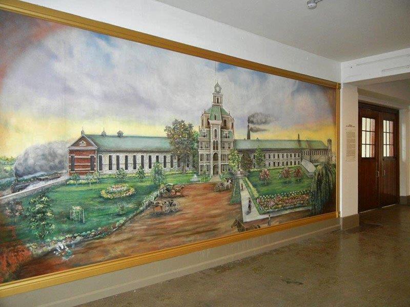 Mural at Armory Arts Village