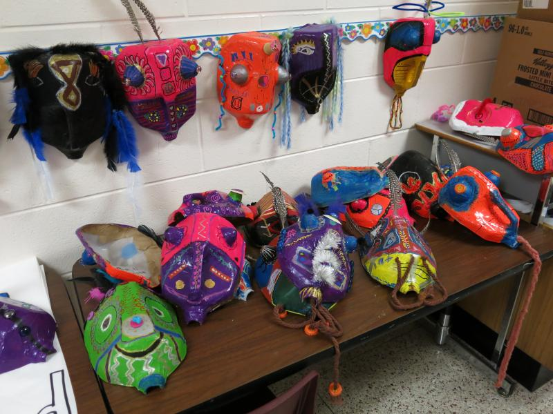 Some students plan to wear masks.