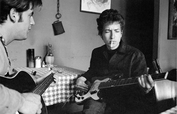Gilbert followed Dylan to Greenwich Village, the Newport Folk Festival, and his home in Woodstock, NY.