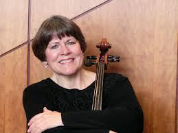 Cellist Judith Vander Weg