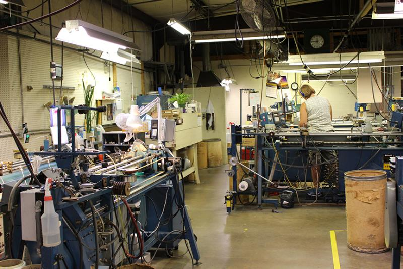 Inside the GHS Strings factory, where the workday begins as early as 6 a.m.