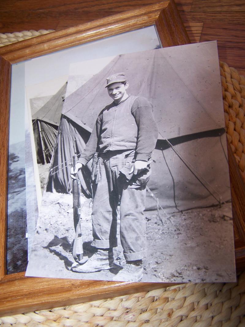 Rudy Hanson during the Korean War