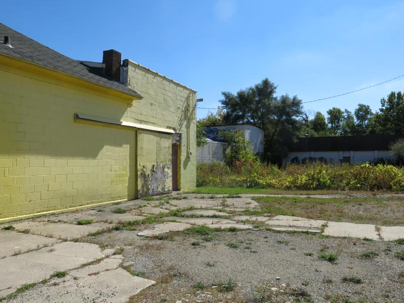 The site of the former gas station.