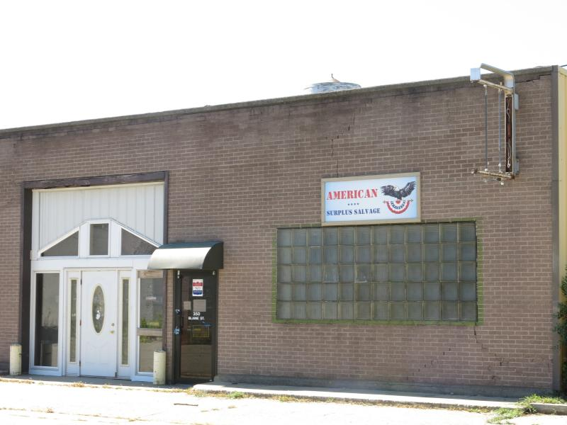 The former surplus store.