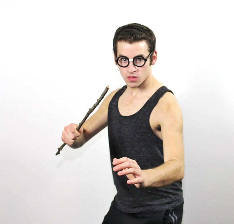 Nick Petrelli as Harry Potter in 'Badfic Love'