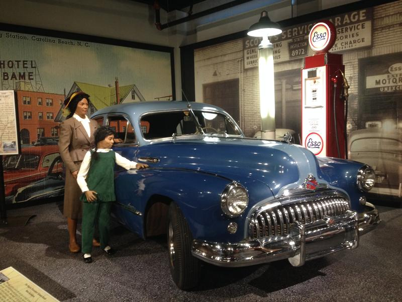 The Green Book exhibit at the Gilmore Car Museum