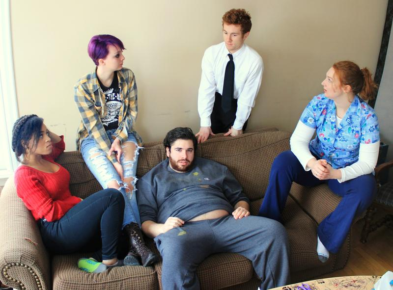 Cast photo for 'The Whale'