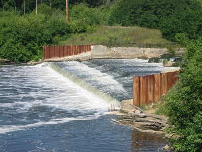 The Otsego Township Dam