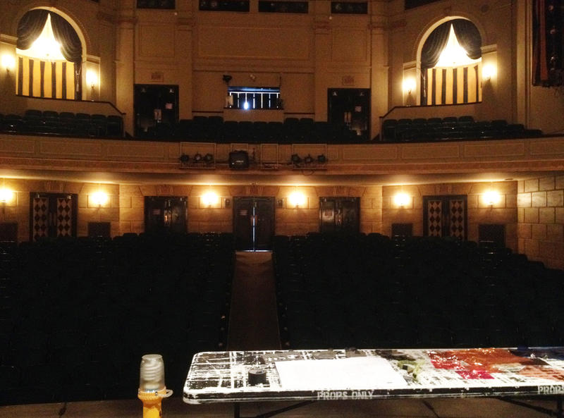 The view from the Civic Theatre's stage